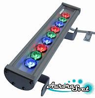 Светильник светодиодный линейный C-27-RGB. Линейный LED светильник. Светодиодный линейный светильник.