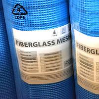 Стеклосетка плотность 160г/м.кв. Fiberglass, рул - 50 м2