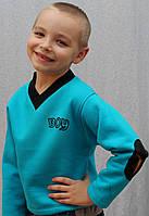 """Толстовка для мальчика """"Андрюлик"""" голубая, фото 1"""