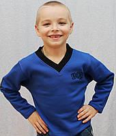 """Толстовка для мальчика """"Андрюлик"""" синяя, фото 1"""