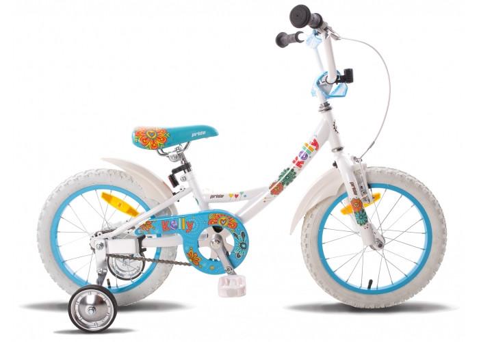 """Детский велосипед PRIDE Kelly бело-голубой глянцевый, 16"""" (BB)"""