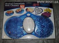 Массажный коврик с пемзой Revival Essentials Sole Cleaner