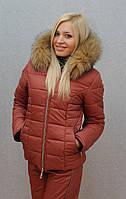 """Очень теплый зимний женский костюм на синтепоне"""" Арина"""" (42-54 р-ры), фото 1"""