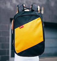 Рюкзак Punch Tilt Black/Yellow 18L