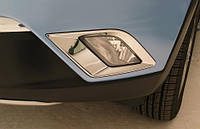 Накладка на противотуманные фары (хром) Ssang Yong Korando New с 2010-