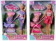 Кукла Штеффи и колыбель с малышом Simba
