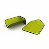 Складная разделочная доска-друшлаг(Зеленый)Joseph Joseph