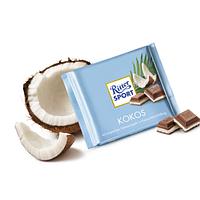 Молочный шоколад Ritter Sport Kokos- с кокосовой стружкой