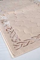 Набор ковриков для ванной STONES (60*100, 50*60) капучино, фото 1