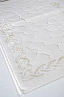 Набор ковриков для ванной STONES (60*100, 50*60) кремовый, фото 1