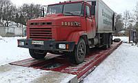 Автомобильные весы 80 тонн., длинна 18 метров.