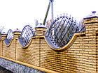 Декоративные кованые заборные вставки, фото 3