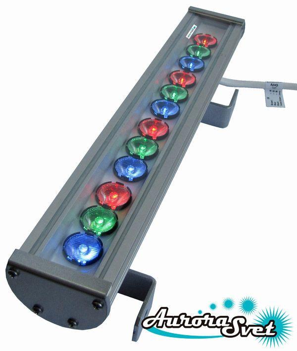 Светильник светодиодный линейный C-36-RGB-700. Линейный LED светильник. Светодиодный линейный светильник.