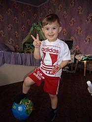 """Футболка+шорты Adidas. ИМ """"ТЁМочКА"""""""