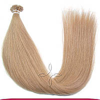Натуральные славянские волосы на капсулах 45-50 см 100 грамм, Русый №08