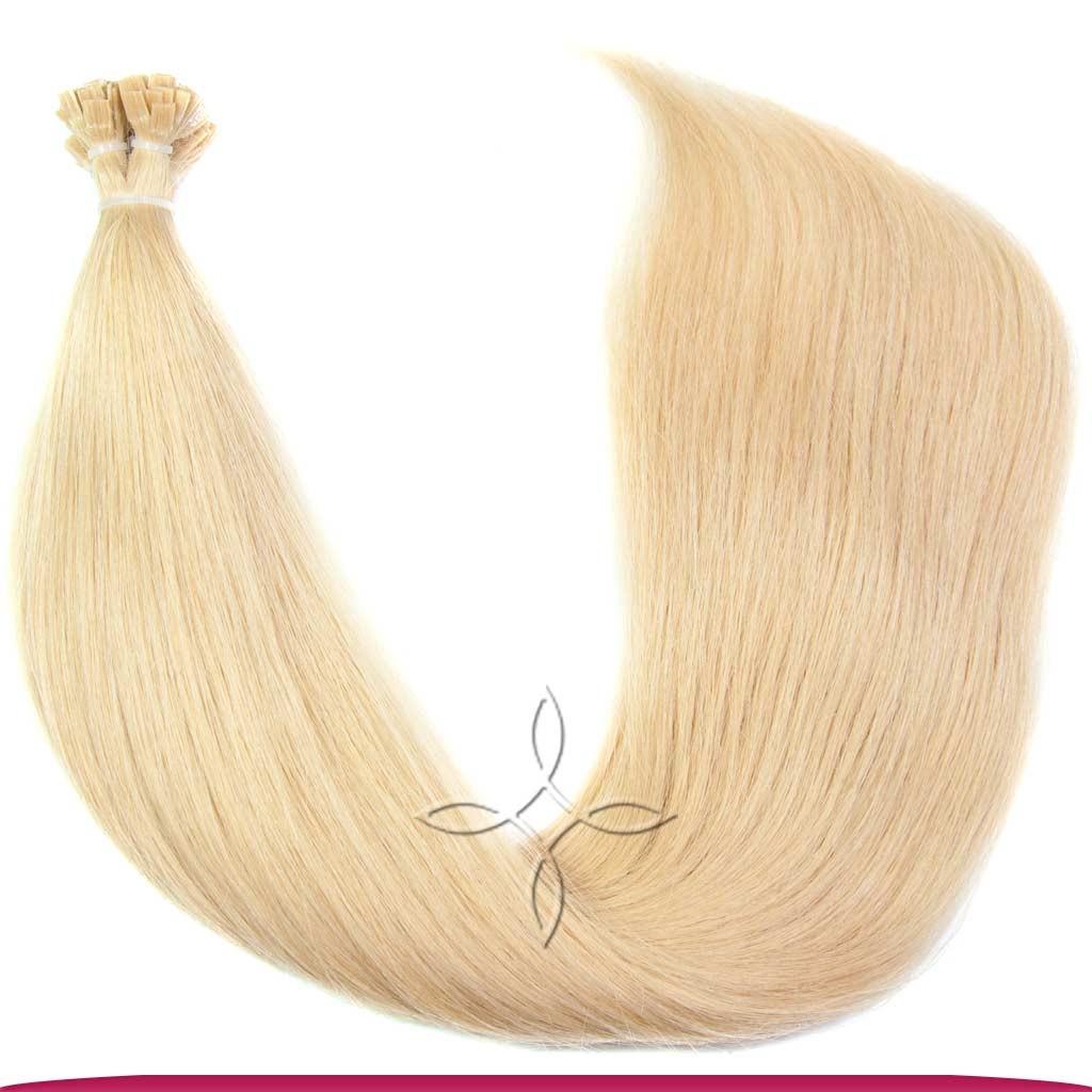 Натуральные Славянские Волосы на Капсулах 60 см 100 грамм, Блонд №22B
