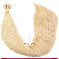 Натуральные славянские волосы на капсулах 55-60 см 100 грамм, Пшеница №22B