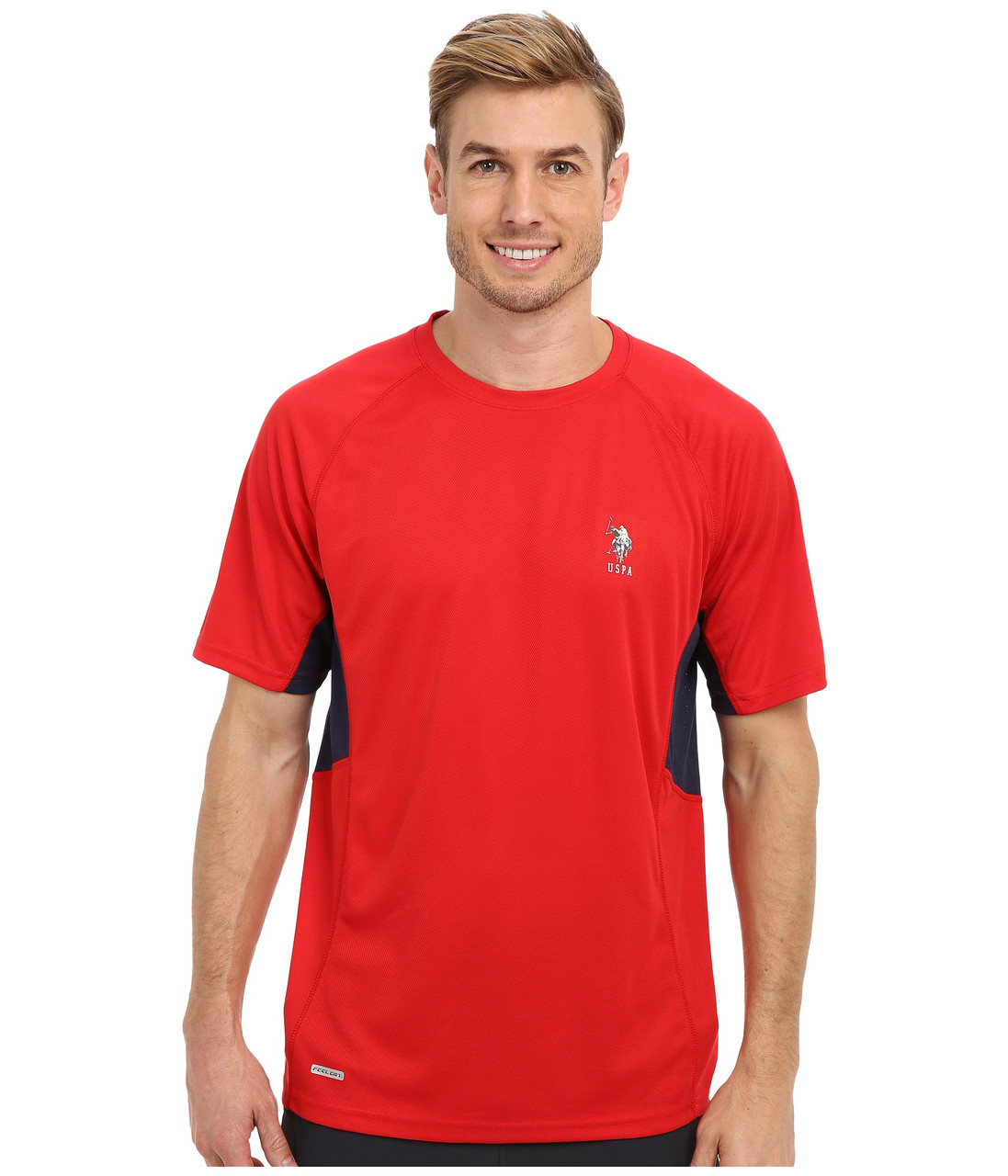 Футболка спортивная U.S. POLO ASSN., Engine Red