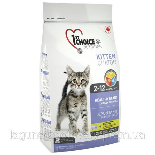 1st Choice (Фест Чойс) КОТЕНОК 2,72кг сухой суперпремиум корм для котят