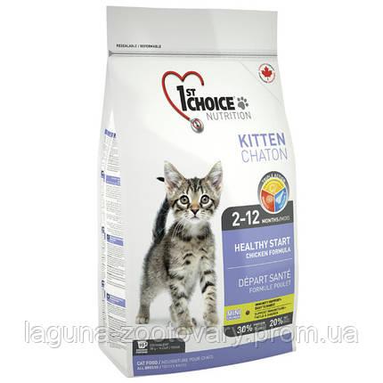 1st Choice (Фест Чойс) КОТЕНОК 2,72кг сухой суперпремиум корм для котят, фото 2