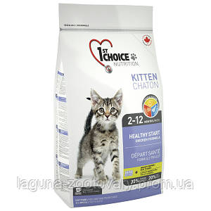 1st Choice (Фест Чойс) КОТЕНОК 2,72кг сухой суперпремиум корм для котят