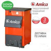 Твердотопливные  котлы Amica Optima 14 квт. плита горения более 8 часов, фото 1