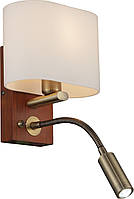 Бра Altalusse INL-3095W-02   Antique Brass & Walnut