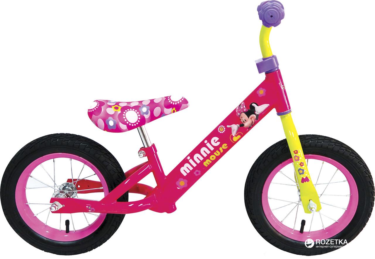 """Детский Велобег M161201 """"Микки Маус"""" колеса 12''"""