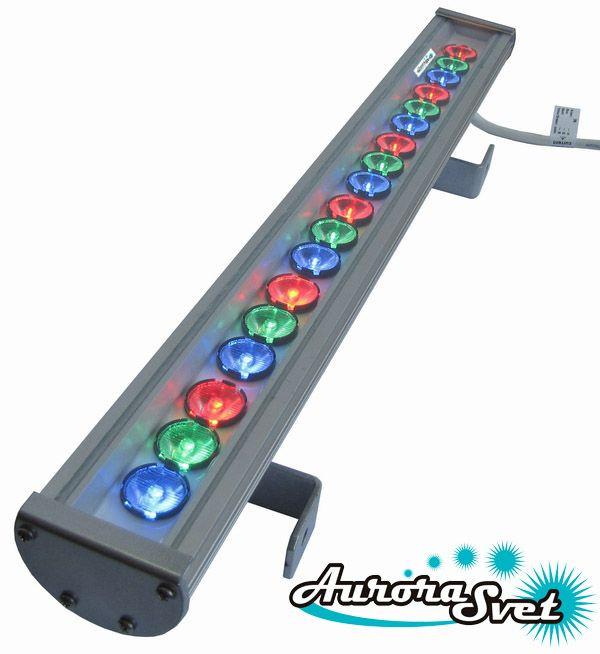 Светильник светодиодный линейный C-54-RGB-700. Линейный LED светильник. Светодиодный линейный светильник.