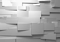 Фотообои  Стена 3 D в стиле Хай тек размер 366 х 254 см