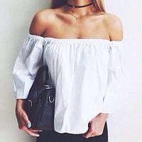 Женская стильная летняя блузка