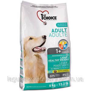1st Choice (Фест Чойс) малокалорийный сухой суперпремиум корм для собак с избыточным весом, 12кг