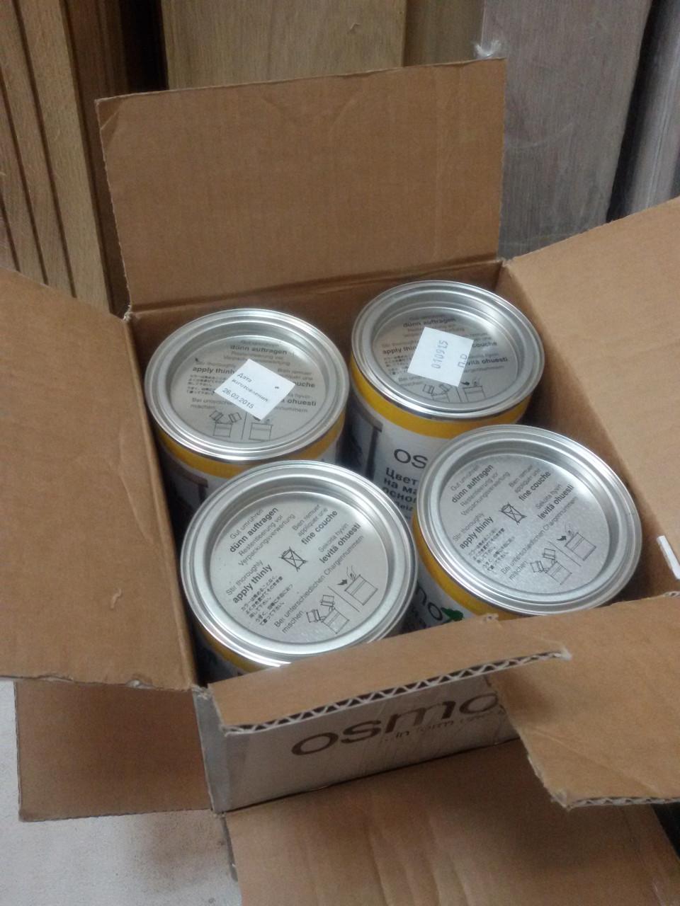 Бейц на основе масла цветного  3518 Светло-серый 2,5 л