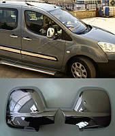 Хром накладки на зеркала Citroen Berlingo 2 (Ситроен Берлинго)