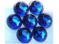 Стразы копия Сваровски (1440 шт. в упаковке), синие,  размер SS 6