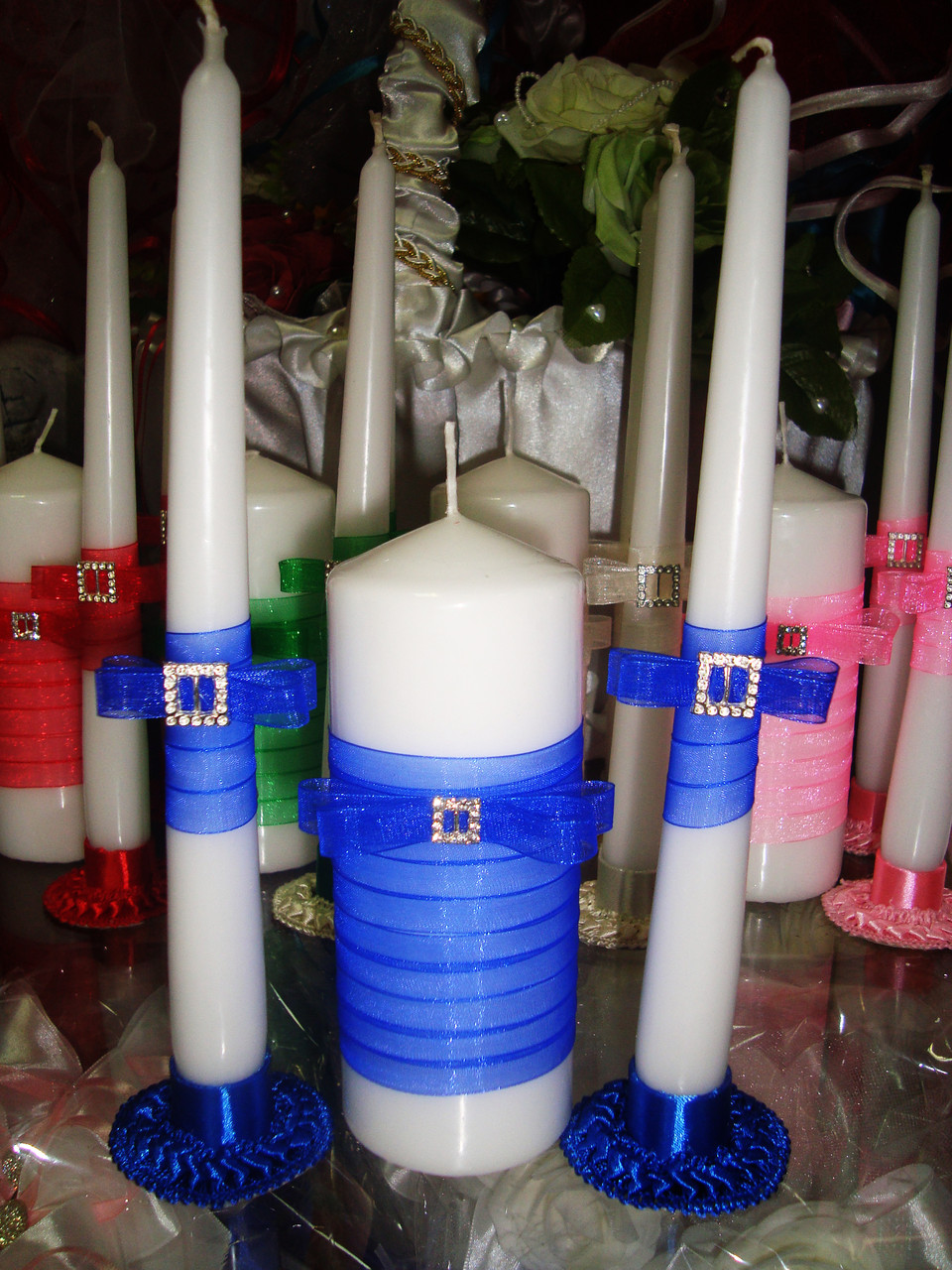 Набор свадебных свечей Узы