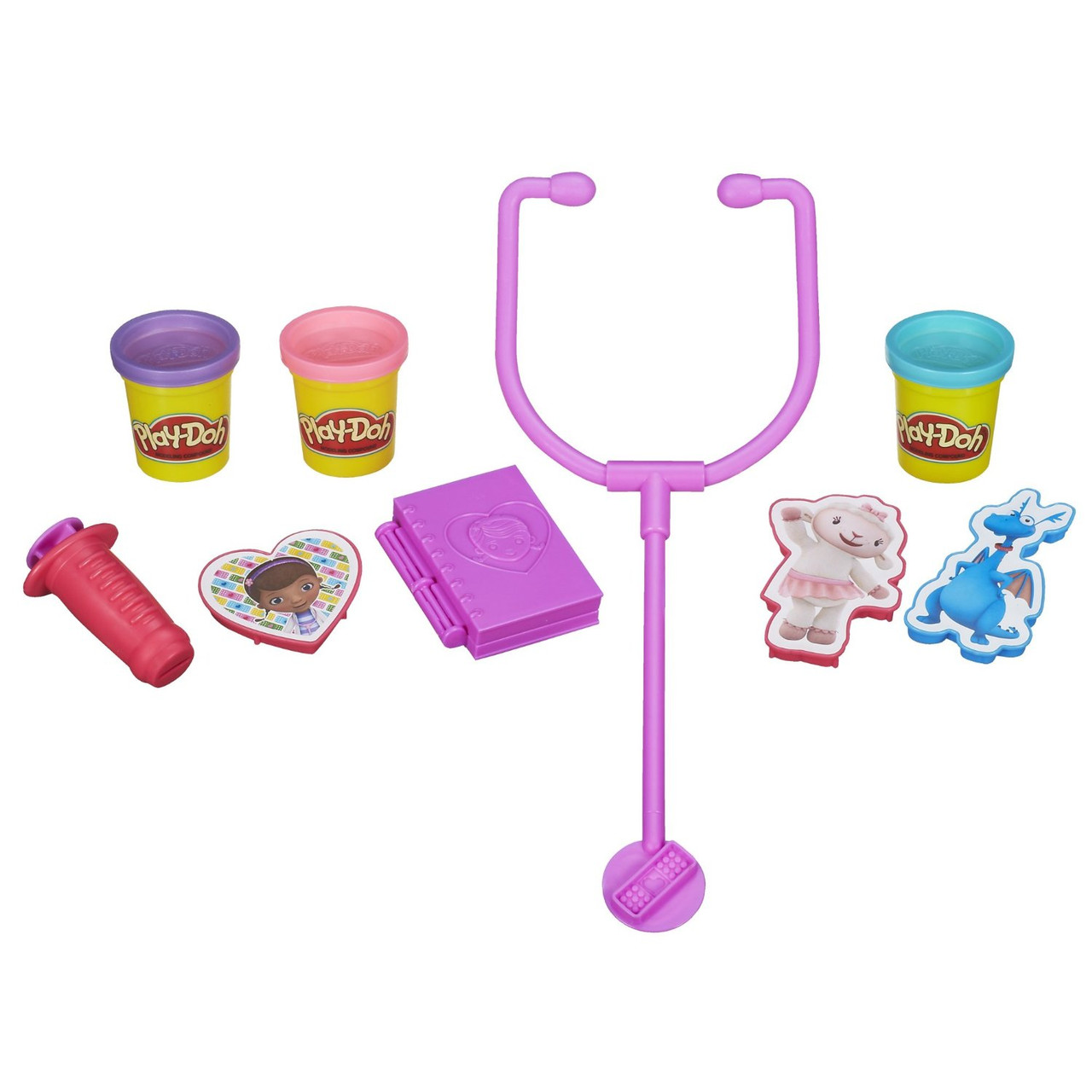Play-Doh плей до набор доктор плюшева Doctor Kit Featuring Doc McStuffins