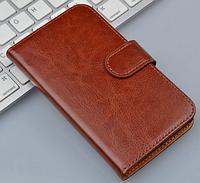 Чехол книжка для  Nokia Lumia 720 коричневый