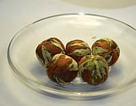 Китайский элитный чай Бай Юй Лянь Белый лотос благоденствия шарик с цветком лилии