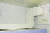Монтаж пластиковых вентиляционных коробов