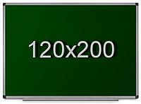 Доска для мела магнитная в алюминиевой раме 120х200см, фото 1