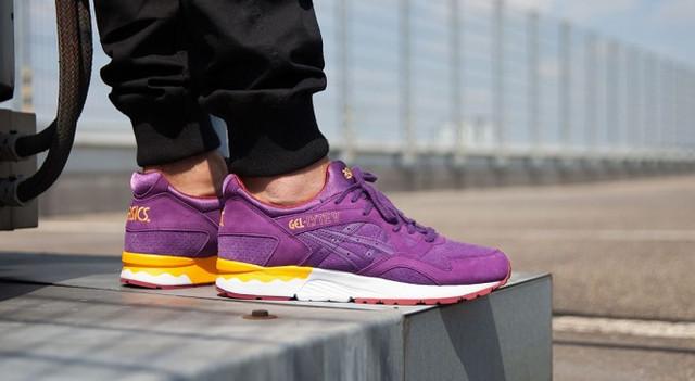 Кроссовки в стиле Asics Gel Lyte V Sunset Pack Purple мужские  фото ... e9f200ea2a774