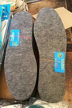 Стелька для обуви фетр 35