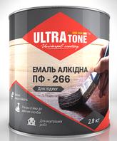 """Эмаль ПФ-266 """"ULTRAtone""""для пола желто-коричневая 0,9 кг"""