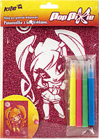 Раскраска с блестками Pop Pixie  PP14-158K