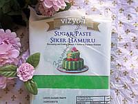 """Мастика сахарная Universal Vizyon """"Зеленая 100 г."""""""