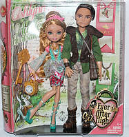 Набор из 2 кукол Эшлин Элла и Хантер Хантсмен (базовые) Ashlynn & Hunter Ever After High Mattel Эвер афтер хай