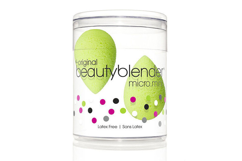 Mini cпонж для макияжа Beautyblender (зеленый) 2 шт