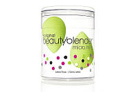 Набор 2 спонжа BEAUTYBLENDER mini (зеленый)