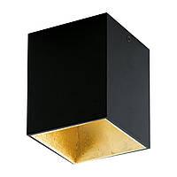 Накладной точечный светильник [ Polasso Black Gold ]